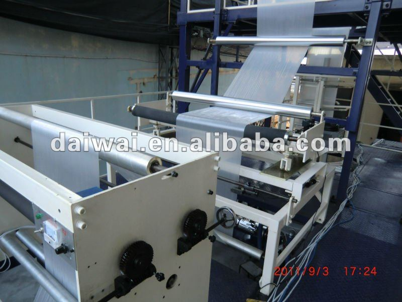 Blow machine automatic, Blowing machine of plastic film(pe/hdpe/ldpe/lldpe),Automatic blow molding machine with deflashing