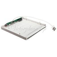 Накопитель на оптических дисках Super Slim External USB 2.0 Slot in DVD RW Enclosure Case 9.5mm / 12.7mm SATA Superdrive Optical Drive For Macbook