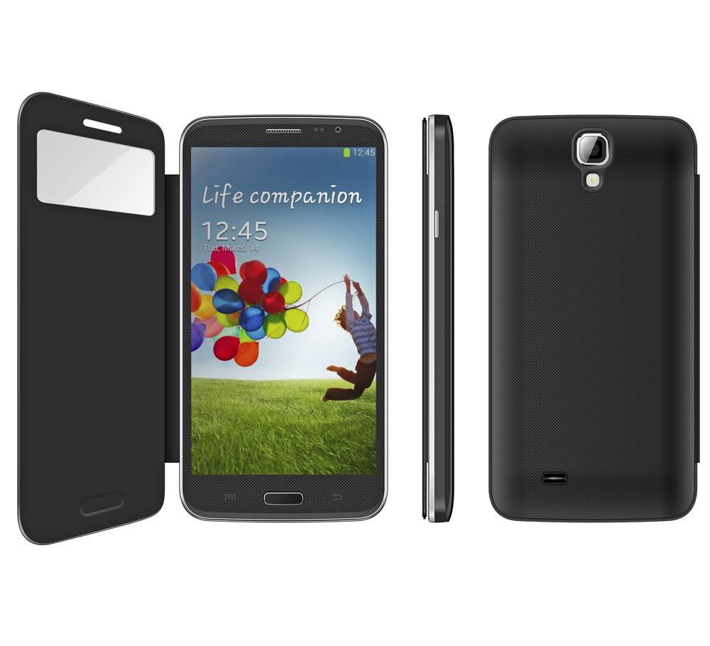 6 inch mobile phone MTK 6589 quad core 2G RAM \/32G ROM Smart Phone Android 4.2 5MP +13MP camera dual camera,GPS Dual Sim