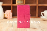 Sheep Skin Folio PU Leather Case with Stand for BlackBerry Z10, Wallet case with Card holder for BlackBerry Z10