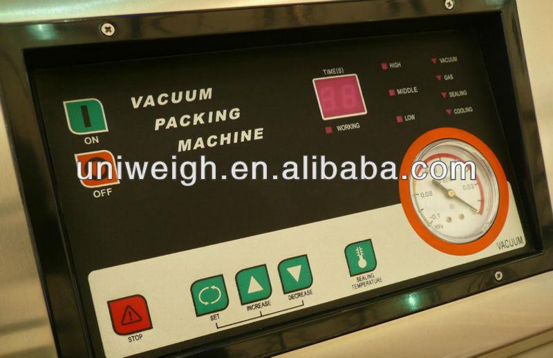 DZV500 single chamber stainless steel floor type vertical vacuum sealer
