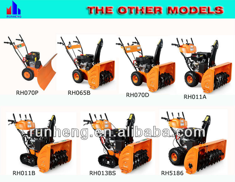 Gasoline Snow Remover/Snow Cleaning Machine/Two Stage Snow Thrower