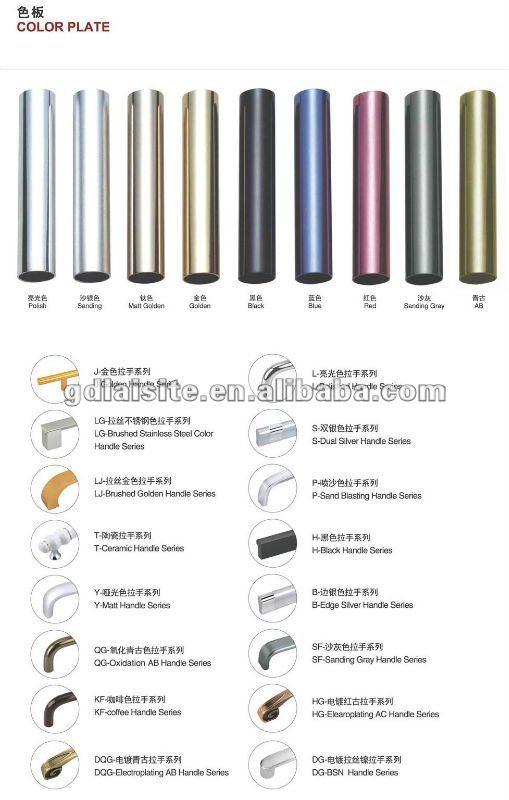 prix concurrentiel de qualité en alliage d'aluminium meubles ... - Poignees De Meubles De Cuisine