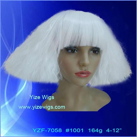 punky, funny for Halloween wig
