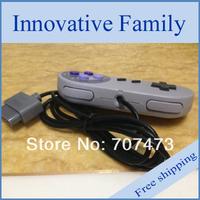 SNES контроллер проводной контроллер sfc contrller классический стиль поли мешок 10pcs/lot