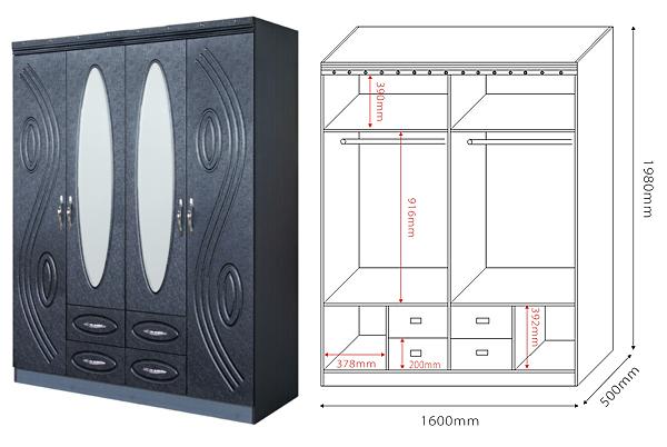 W664 50 Diy Almirah Design Bedroom Designs Wooden
