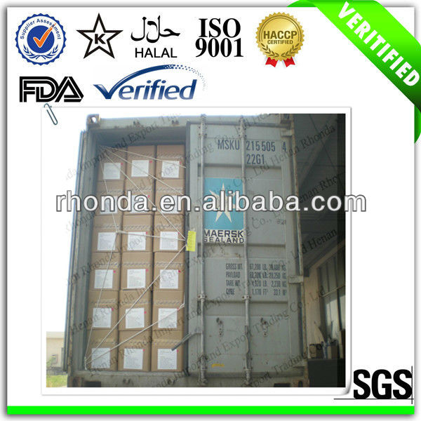 The biggest supplier in China mainland provide sweetener powder sugar stevia price