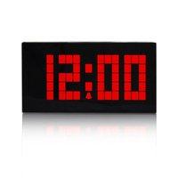современное время дизайн Декор номер номера настенные часы красный
