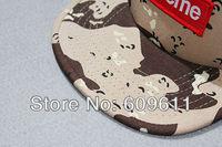 Женская бейсболка SUPREME BOX 5 panel LOGO DESERT CAMOUFLAGE HAT HAT SNAPBACK baseball caps