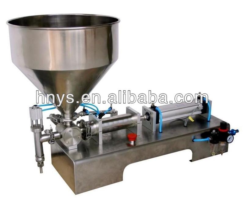 Table top máquina de enchimento para venda de óleo de salada