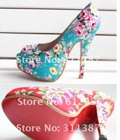 Free shipping   2012 new drop shipping Fabric Spring&Autumn ladies sexy high heels shoes,sandals for women,women shoes SXX02010