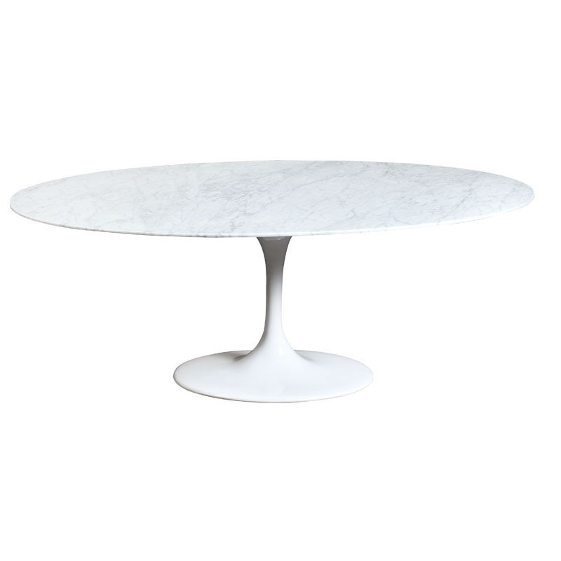 Eero Saarinen Tulipe Ovale Table Manger En Marbre Moderne Mobilier Design Classique