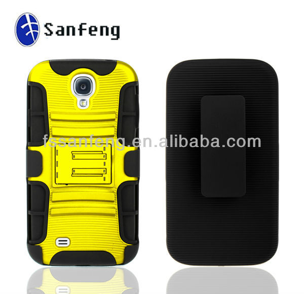 Wholesaler New Double Mobile Phone case for Sumsung Galaxy S4 i9500 for boost