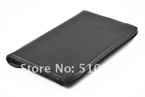 Brand New Rotating 360 Folio Stand Leather Case Cover For Motorola XOOM 2 Xyboard Media Editi XOOM2 10.1' +Free Shipping