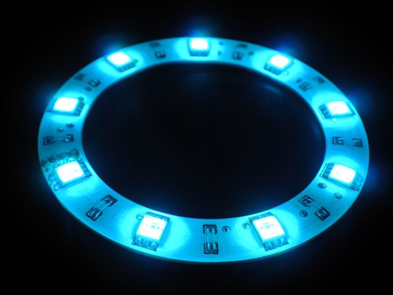 Auto LED ring light