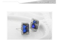 Neoglory Elegant Stud Earrings MADE WITH SWAROVSKI ELEMENTS Crystal &Rhinestone Fashion Jewelry for Female Valentine's Day Gifts