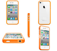 1Pcs Free Shipping Bumper Case Silicone Bumper Frame for iPhone 4/iphone 4s