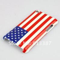 Чехол для для мобильных телефонов New U.S. Flag Design Hard Skin Case Cover for Apple iPod Touch 4