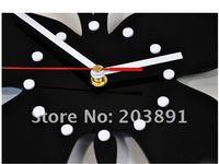 Новый декор дома искусства Дизайн современный стиль время бабочка настенные часы 2colors