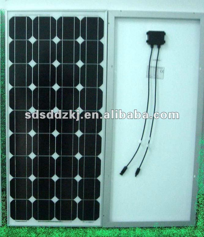 High Effective 100w Mono Solar Panel