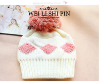 Женская шапка 2013 New Brand Warm&Beautiful Winter Knitted Wool Hat Women's Cap Square Grid Kintting Lady Beanie Hats
