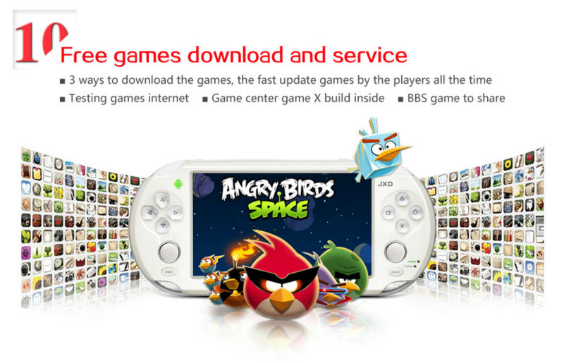 games for jxd 300 b free download