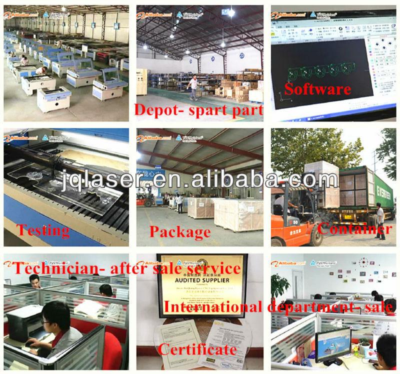 fabric /leather laser cutting machine-JQ1490(CE&FDA)