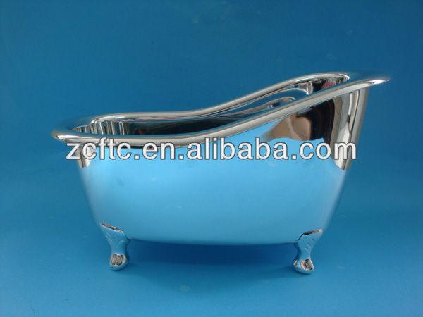 En plastique mini baignoire pour emballage argent mini baignoire bouteilles id de produit for Comgrande baignoire plastique