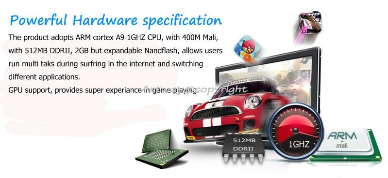 New Android 2.3 Internet Smart IPTV Box for video chatting, with VGA, CVBS, new Google TV box