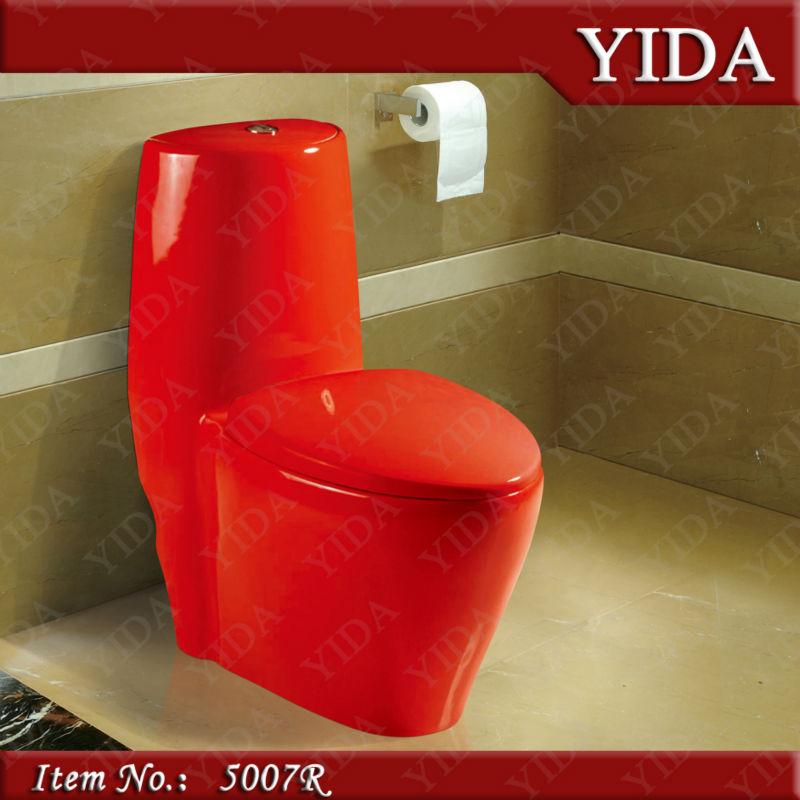 Tasa De Baño O Inodoro: vermelha banheiro e cor vaso sanitário para o banheiro sanitários