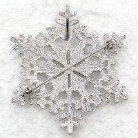 красивые блестками хрусталь горный хрусталь рождественские снежинки брошь Свадебные партии цветок украшения броши & Кулон 927