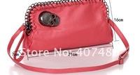 Вечерняя сумка skull rock punk day evening bag clutch shoulder bag Handbag vintage Designer Lady Fashion multi color option