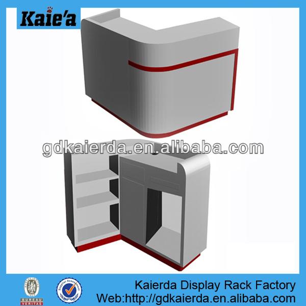belle bois comptoir caisse bureau pour boutique support d 39 affichage id de produit 1790055049. Black Bedroom Furniture Sets. Home Design Ideas