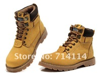 Мужские ботинки Fashion Unisex leather waterproof snow boots Winter outdoor mountaineering Men boots