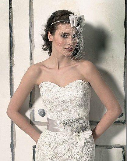 off shoulder mermaid full lace sweetheart neckline sash wedding dress