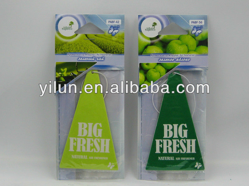 paper air freshener car air freshener factory sales