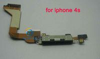 Гибкий кабель для мобильных телефонов High quality Dock Connector Charging Port Flex Cable Ribbon for iPhone 4S 1 piece