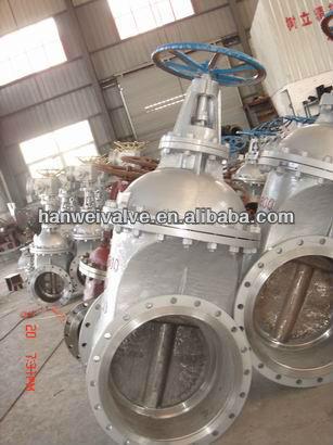 low pressure non rising stem gate valve DN250