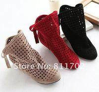 Весна лето осенью, бантом принять прохладный Сапоги женские босоножки/Свадебные обуви