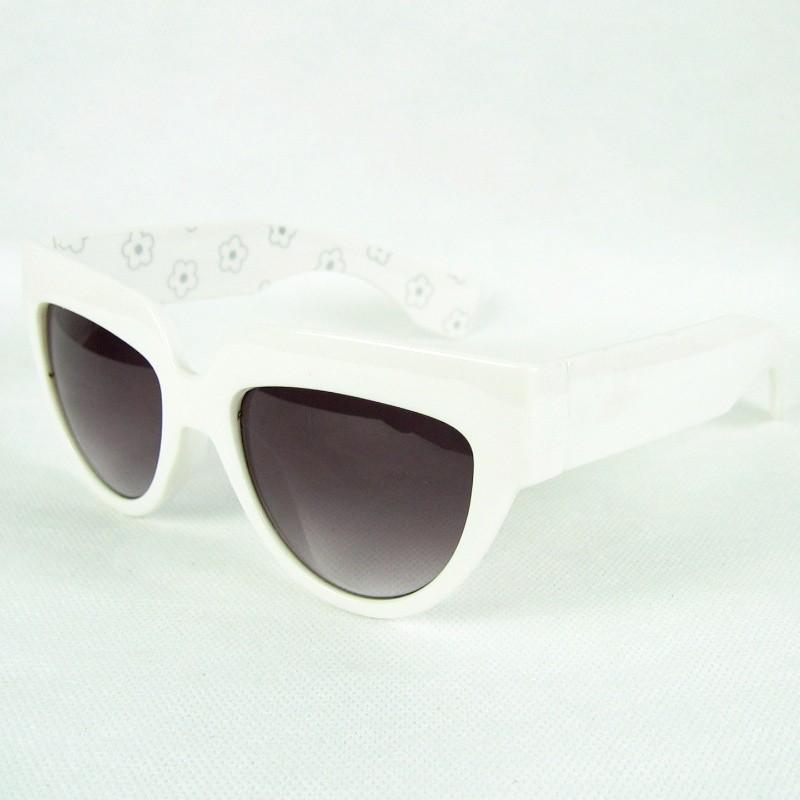 Брендовые солнцезащитные очки мода сексуальные женщины загара большой cateye очки кадр uv400 ноги внутри печати 20pcs/lot