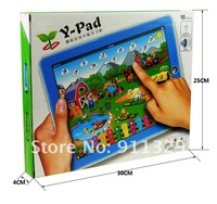 Best selling!!  Farm Tablet Toy Y-pad Table computer lovely farm kid learing machine educational toys  Free shipping,1pcs