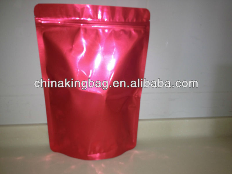 plastic bag for food with stand up bottom gusset