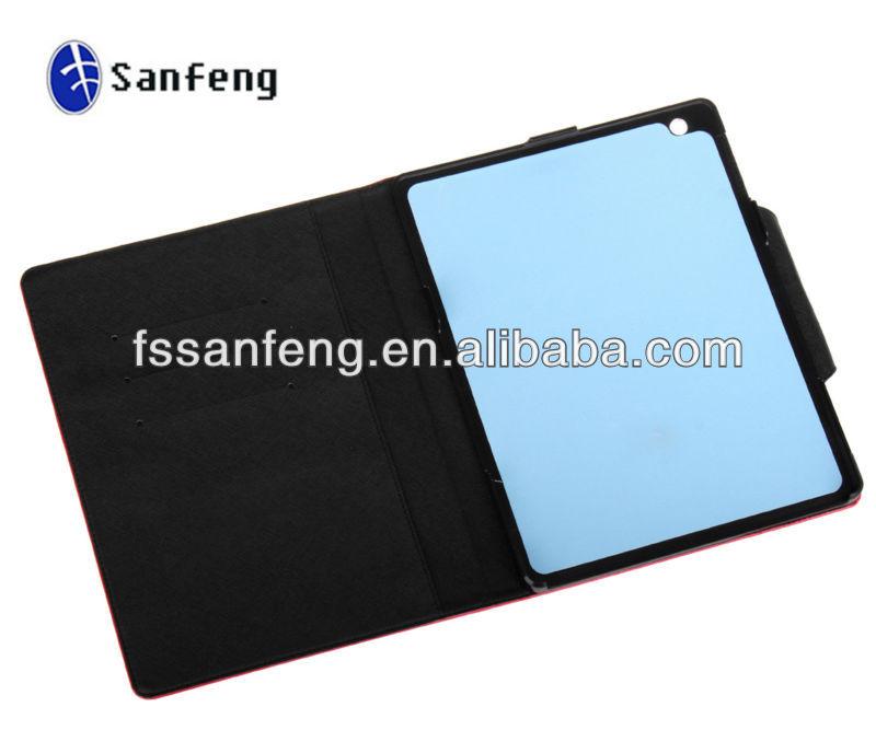 Stand PU Flip Case For Ipad 4 PU Case