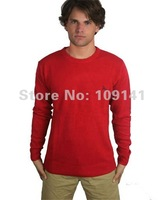 Мужской пуловер prirglc wool knitwear men round neck sweaters in blue 20097bl