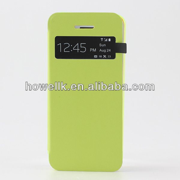 wholesale for iphone 5c case, for iphone 5c cover(flip cover)