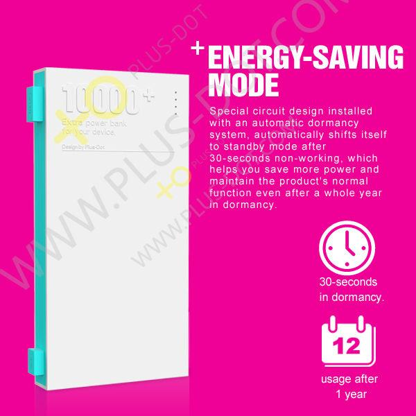 plusdot wholesale promotion power bank 10000mah distributors canada