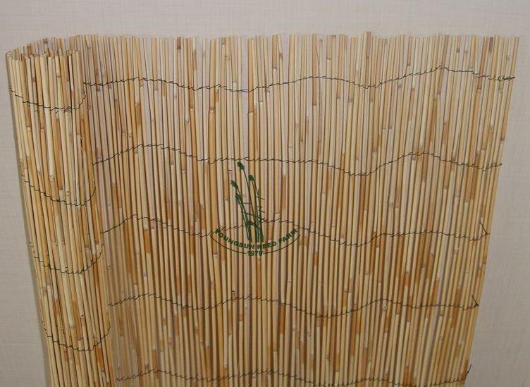 Naturel roseau cl ture rouleaux pour jardin d coration parois des cloisons chambre id de for Cloture jardin roseau