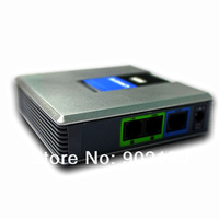 Wholesale free shipping Linksys Phone Adapter  , VoIP Gateway,  voip gateway fxs fxo , IP ATA-unlock hot sale with FXO and FXS