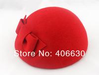 новый зимний женщин шерсть войлок берет шляпу, девушки fedora шляпу, несколько цветов, по почте Китая