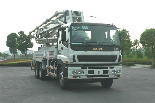 4R37 ISUZU Truck-mounted Concrete Pump Truck